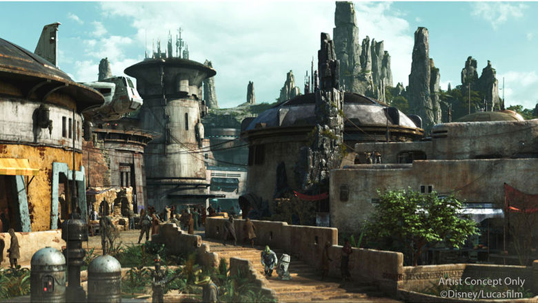 Disney unveils details about Star Wars, other park attractions