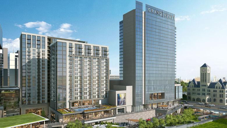 Luxury upgrade: Nashville Yards hotel will be a Grand Hyatt
