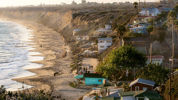 The Crystal Cove Historic District in Newport Beach, Calif., where cottages are open to the public for overnight stays. It is one of the few lower-cost accommodation options on the California coast.