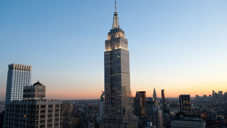 The Empire State Building in New York City. The tower's observatory is reopening July 20.