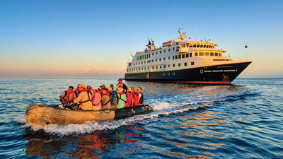 Lindblad Expeditions spearheads Galapagos relief effort