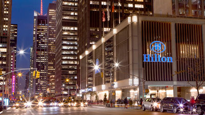 Hilton still waiting for large corporations to get back on the road