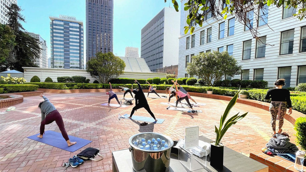 With business travel lagging, urban hotels embrace leisure