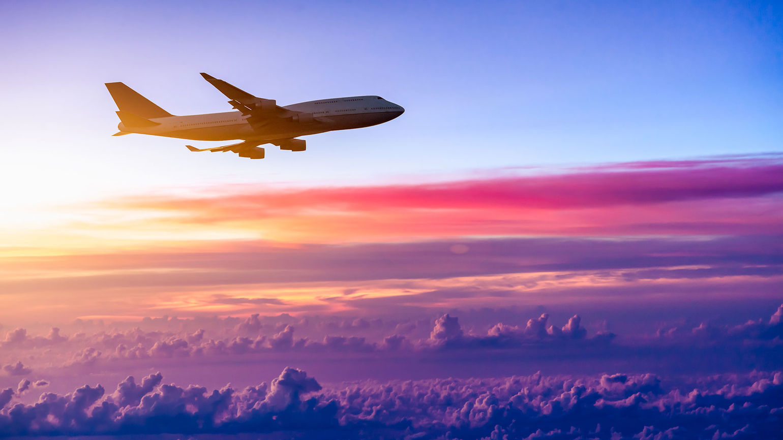 Airplane sunrise [Credit: 06photo/Shutterstock.com]