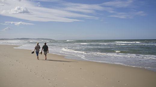 Seven Mile Beach, Tasmania, Australia