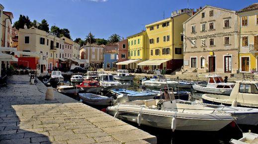 Veli Losinj, Losinj Island, Croatia