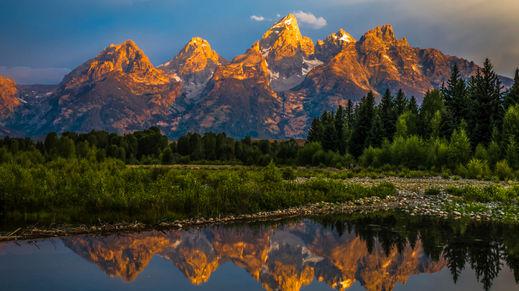Grand Teton Natl Park, Wyoming