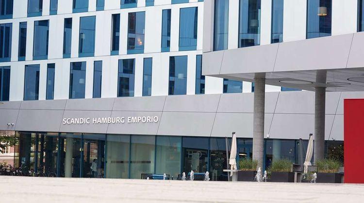 Scandic Hamburg Emporio Exterior