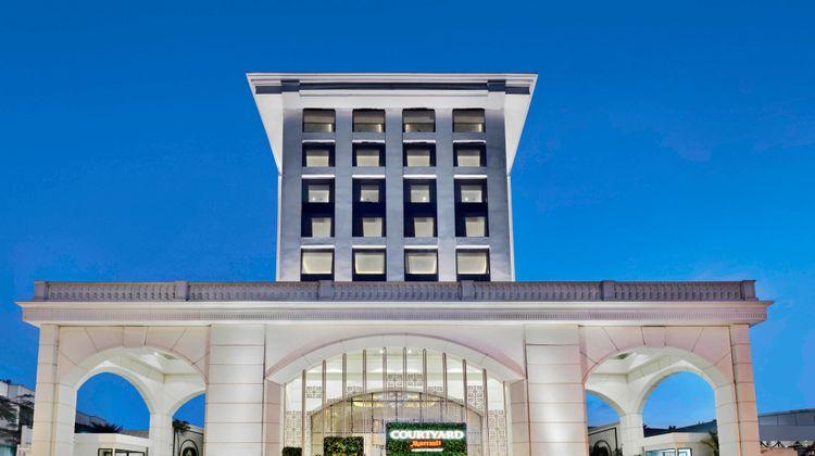Courtyard by Marriott Bengaluru Hebbal Exterior