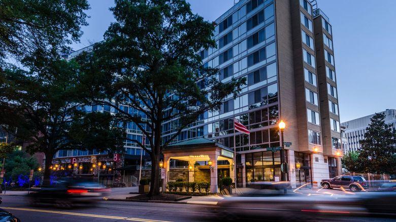 Beacon Hotel  and  Corporate Quarters Exterior