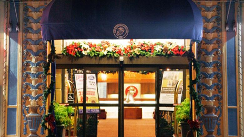 Marines Memorial Club  and  Hotel Union Sq Exterior