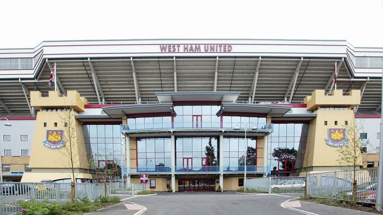 <b>West Ham United Hotel Exterior</b>