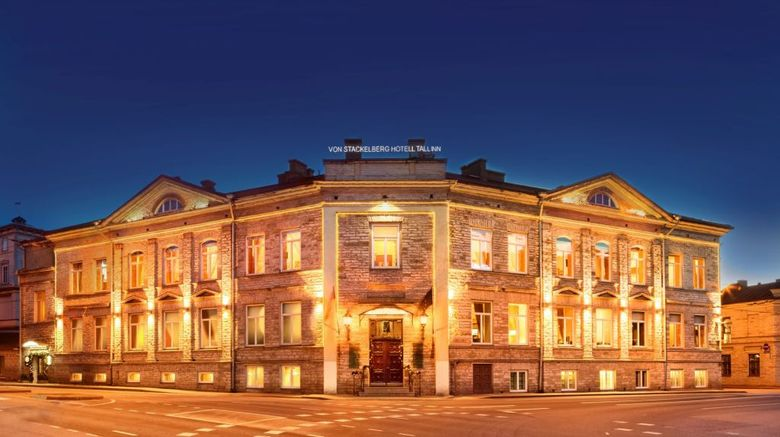 The von Stackelberg Hotel Tallinn Exterior
