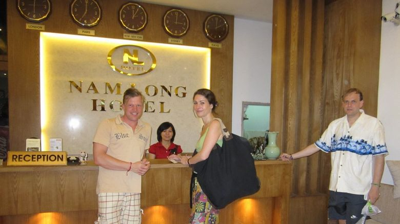 Nam Long Hotel Lobby