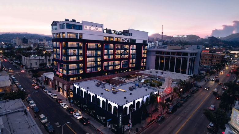 Dream Hollywood Hotel Exterior