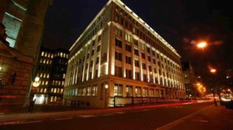 Crowne Plaza London-The City Exterior