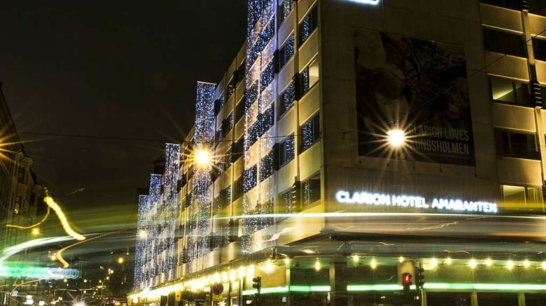 """Clarion Hotel Amaranten Exterior. Images powered by <a href=""""http://web.iceportal.com"""" target=""""_blank"""" rel=""""noopener"""">Ice Portal</a>."""