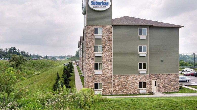 """Suburban Extended Stay Hotel Exterior. Images powered by <a href=""""http://web.iceportal.com"""" target=""""_blank"""" rel=""""noopener"""">Ice Portal</a>."""