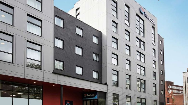 """Travelodge Birmingham Central Moor Street Exterior. Images powered by <a href=""""http://web.iceportal.com"""" target=""""_blank"""" rel=""""noopener"""">Ice Portal</a>."""