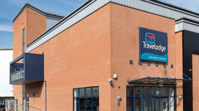 """Travelodge Leicester Central Exterior. Images powered by <a href=""""http://web.iceportal.com"""" target=""""_blank"""" rel=""""noopener"""">Ice Portal</a>."""