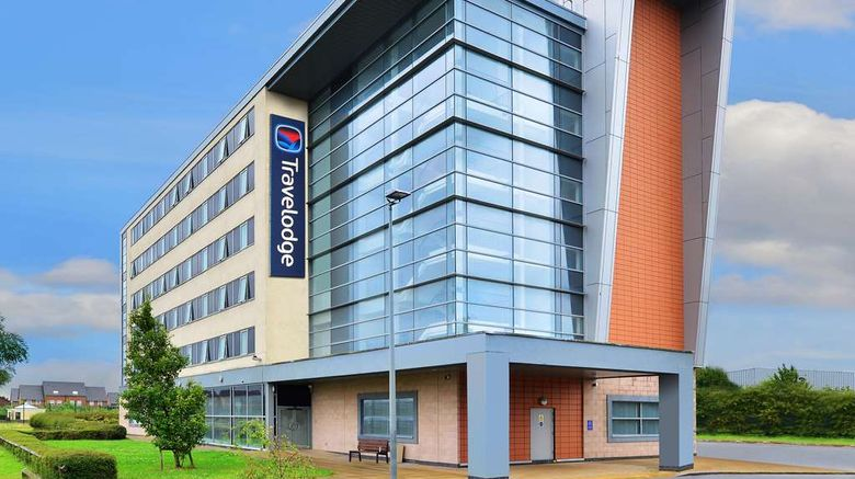 """Travelodge Liverpool John Lennon Airport Exterior. Images powered by <a href=""""http://web.iceportal.com"""" target=""""_blank"""" rel=""""noopener"""">Ice Portal</a>."""