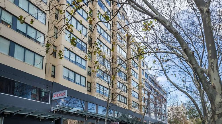 """Rydges Sydney Central Exterior. Images powered by <a href=""""http://web.iceportal.com"""" target=""""_blank"""" rel=""""noopener"""">Ice Portal</a>."""