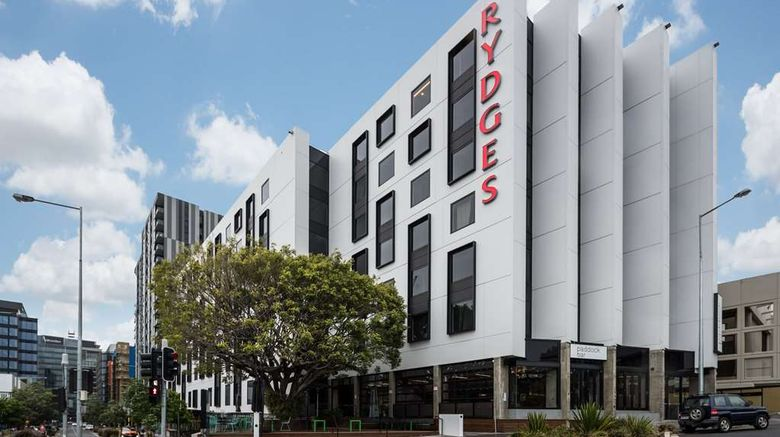 """Rydges Fortitude Valley Exterior. Images powered by <a href=""""http://web.iceportal.com"""" target=""""_blank"""" rel=""""noopener"""">Ice Portal</a>."""