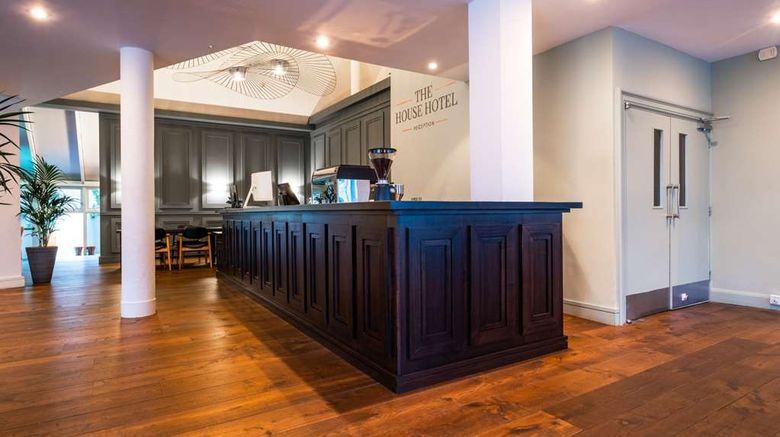 """<b>The House Hotel, an Ascend Hotel Lobby</b>. Images powered by <a href=""""https://iceportal.shijigroup.com/"""" title=""""IcePortal"""" target=""""_blank"""">IcePortal</a>."""