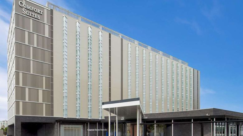 """Comfort Suites Tokyo Bay Exterior. Images powered by <a href=""""http://web.iceportal.com"""" target=""""_blank"""" rel=""""noopener"""">Ice Portal</a>."""