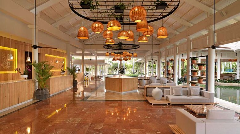 """Melia Punta Cana Beach Resort-AdultsOnly Lobby. Images powered by <a href=""""http://web.iceportal.com"""" target=""""_blank"""" rel=""""noopener"""">Ice Portal</a>."""