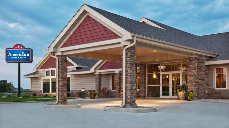 """AmericInn by Wyndham Osage Exterior. Images powered by <a href=""""http://web.iceportal.com"""" target=""""_blank"""" rel=""""noopener"""">Ice Portal</a>."""