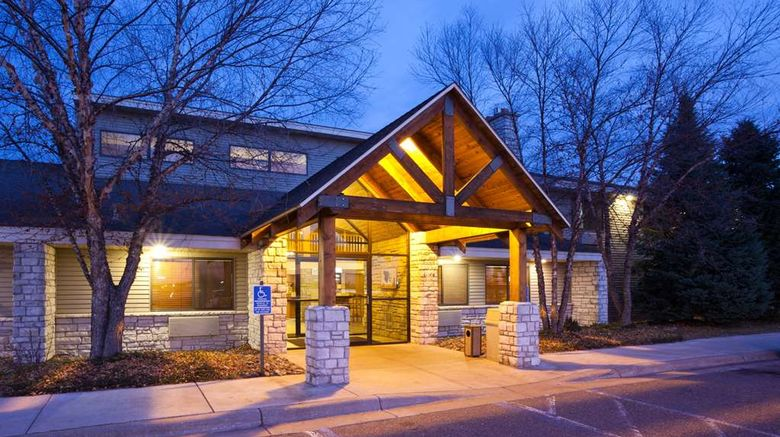 """AmericInn by Wyndham Princeton Exterior. Images powered by <a href=""""http://web.iceportal.com"""" target=""""_blank"""" rel=""""noopener"""">Ice Portal</a>."""