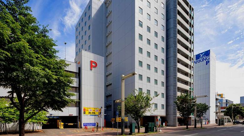 """Comfort Hotel Sapporo Susukino Exterior. Images powered by <a href=""""http://web.iceportal.com"""" target=""""_blank"""" rel=""""noopener"""">Ice Portal</a>."""