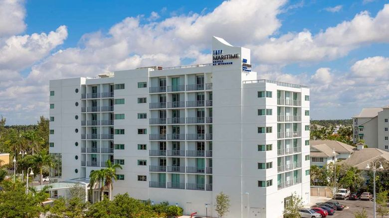"""TRYP by Wyndham Maritime Fort Lauderdale Exterior. Images powered by <a href=""""http://web.iceportal.com"""" target=""""_blank"""" rel=""""noopener"""">Ice Portal</a>."""