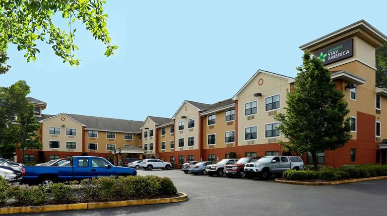 """Extended Stay America Stes Olympia Tumwa Exterior. Images powered by <a href=""""http://web.iceportal.com"""" target=""""_blank"""" rel=""""noopener"""">Ice Portal</a>."""