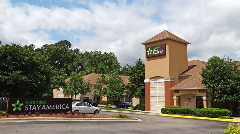 """Extended Stay America Stes N Raleigh Wkf Exterior. Images powered by <a href=""""http://web.iceportal.com"""" target=""""_blank"""" rel=""""noopener"""">Ice Portal</a>."""