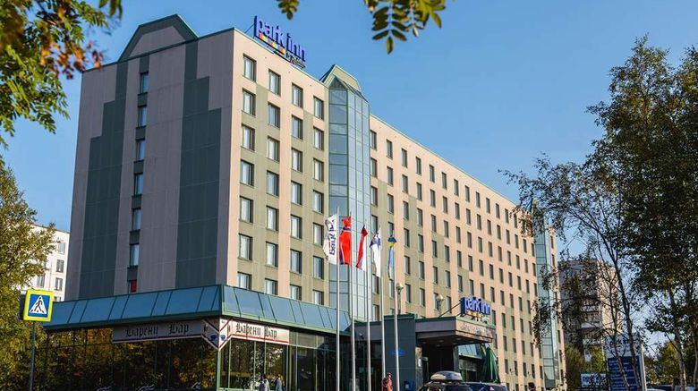 """<b>Park Inn by Radisson Poliarne Zori Exterior</b>. Images powered by <a href=""""https://iceportal.shijigroup.com/"""" title=""""IcePortal"""" target=""""_blank"""">IcePortal</a>."""