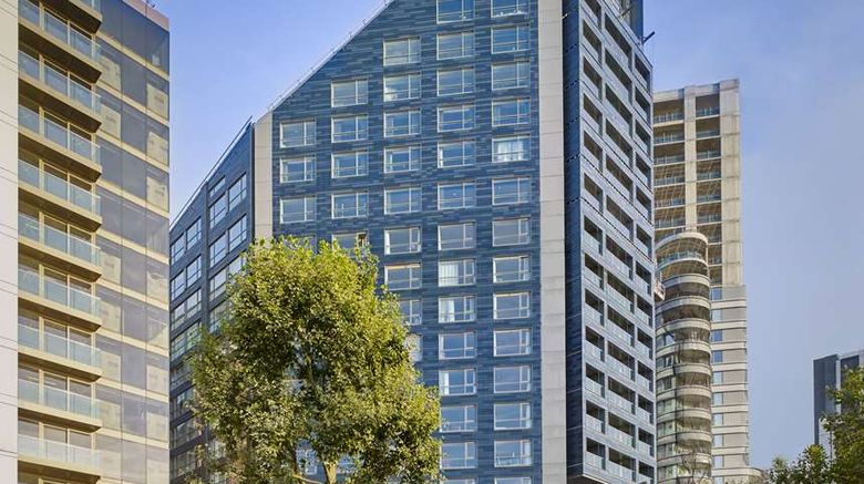 """Park Plaza London Riverbank Exterior. Images powered by <a href=""""http://web.iceportal.com"""" target=""""_blank"""" rel=""""noopener"""">Ice Portal</a>."""