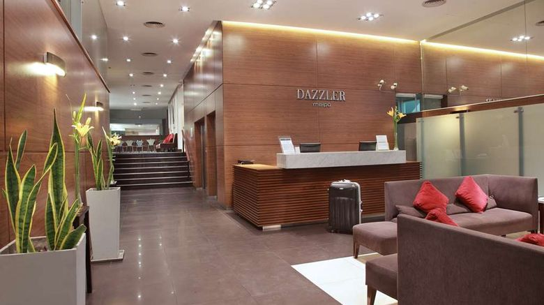 """Dazzler Maipu Lobby. Images powered by <a href=""""http://web.iceportal.com"""" target=""""_blank"""" rel=""""noopener"""">Ice Portal</a>."""