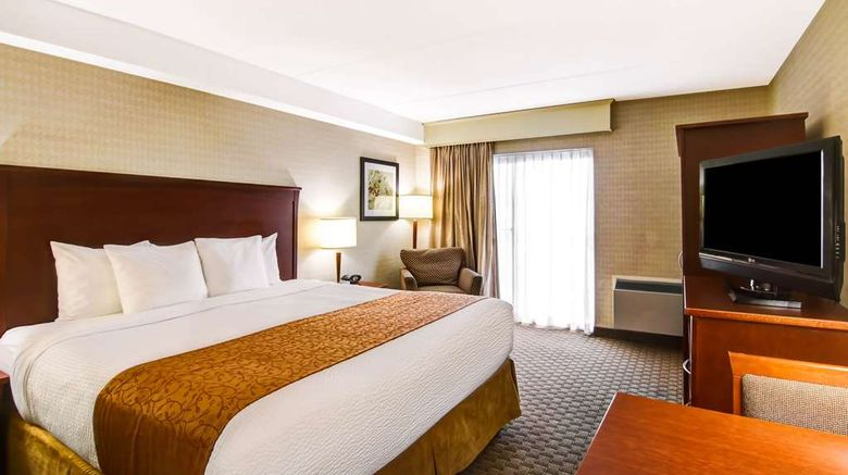 """Quality Inn Kitchener-Waterloo Room. Images powered by <a href=""""http://web.iceportal.com"""" target=""""_blank"""" rel=""""noopener"""">Ice Portal</a>."""