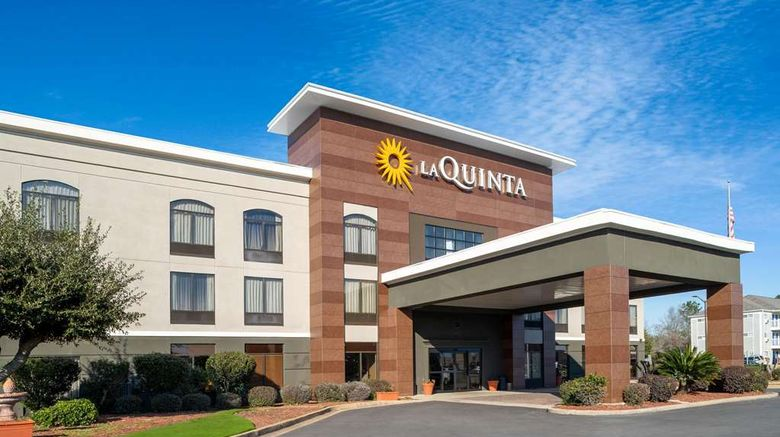"""La Quinta Inn and Suites Albany Exterior. Images powered by <a href=""""http://web.iceportal.com"""" target=""""_blank"""" rel=""""noopener"""">Ice Portal</a>."""