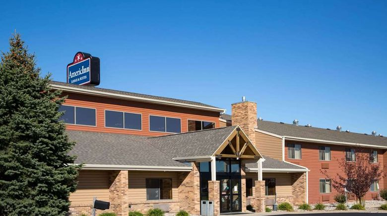 """AmericInn by Wyndham Sioux City Exterior. Images powered by <a href=""""http://web.iceportal.com"""" target=""""_blank"""" rel=""""noopener"""">Ice Portal</a>."""
