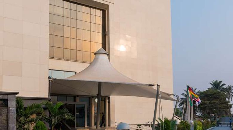 """Radisson Blu Hotel Lagos Ikeja Exterior. Images powered by <a href=""""http://web.iceportal.com"""" target=""""_blank"""" rel=""""noopener"""">Ice Portal</a>."""