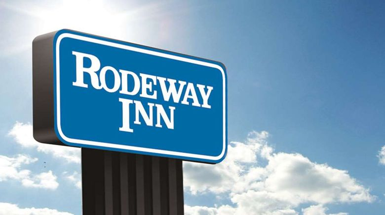 """Rodeway Inn Oklahoma City South Exterior. Images powered by <a href=""""http://web.iceportal.com"""" target=""""_blank"""" rel=""""noopener"""">Ice Portal</a>."""