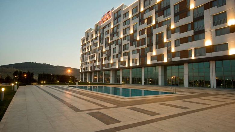 """Miracle Istanbul Asia Hotel Exterior. Images powered by <a href=""""http://web.iceportal.com"""" target=""""_blank"""" rel=""""noopener"""">Ice Portal</a>."""