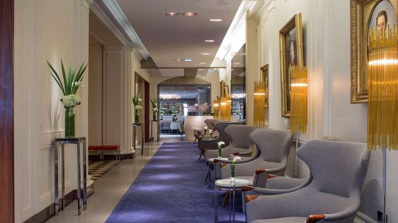 """Hotel de Sers Lobby. Images powered by <a href=""""http://web.iceportal.com"""" target=""""_blank"""" rel=""""noopener"""">Ice Portal</a>."""