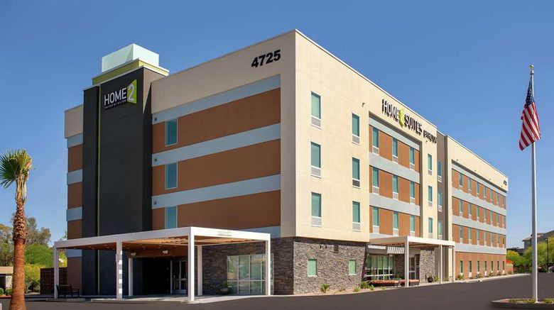 """Home2 Suites by Hilton Phoenix Airport S Exterior. Images powered by <a href=""""http://web.iceportal.com"""" target=""""_blank"""" rel=""""noopener"""">Ice Portal</a>."""