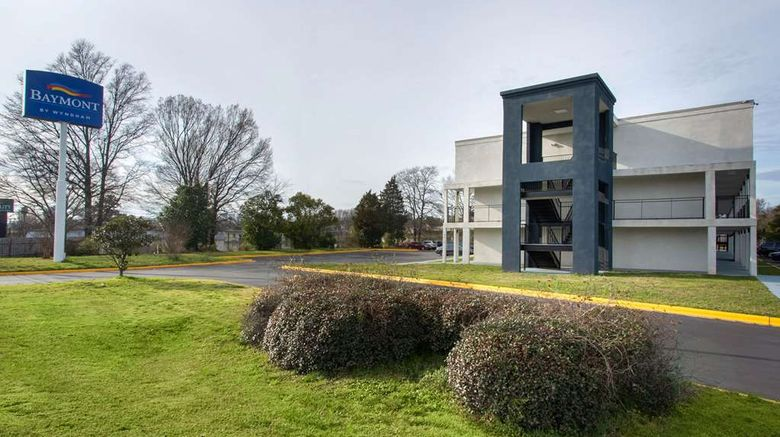 """Baymont by Wyndham Charlotte University Exterior. Images powered by <a href=""""http://web.iceportal.com"""" target=""""_blank"""" rel=""""noopener"""">Ice Portal</a>."""