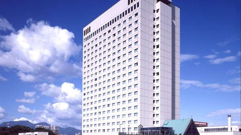 """Keio Plaza Hotel Exterior. Images powered by <a href=""""http://web.iceportal.com"""" target=""""_blank"""" rel=""""noopener"""">Ice Portal</a>."""