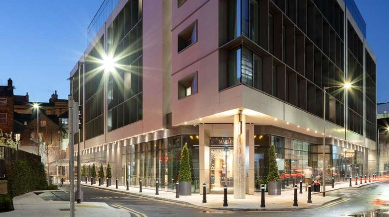 """Marlin Hotel Dublin Exterior. Images powered by <a href=""""http://web.iceportal.com"""" target=""""_blank"""" rel=""""noopener"""">Ice Portal</a>."""